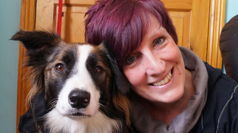 Maya and owner Joanne.