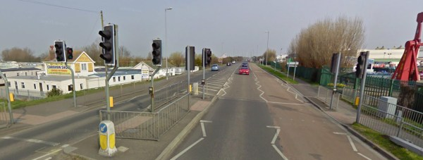Roman Bank, Skegness. Photo: Google Street View