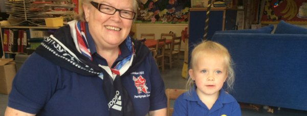 Carolynn Fletcher manages Swineshead Pre-School Centre near Boston.