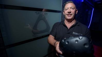 Simon Adderley, founder of Tension Group. Photo: Steve Smailes