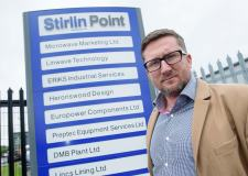 Managing Director or Stirlin Development James Kirby