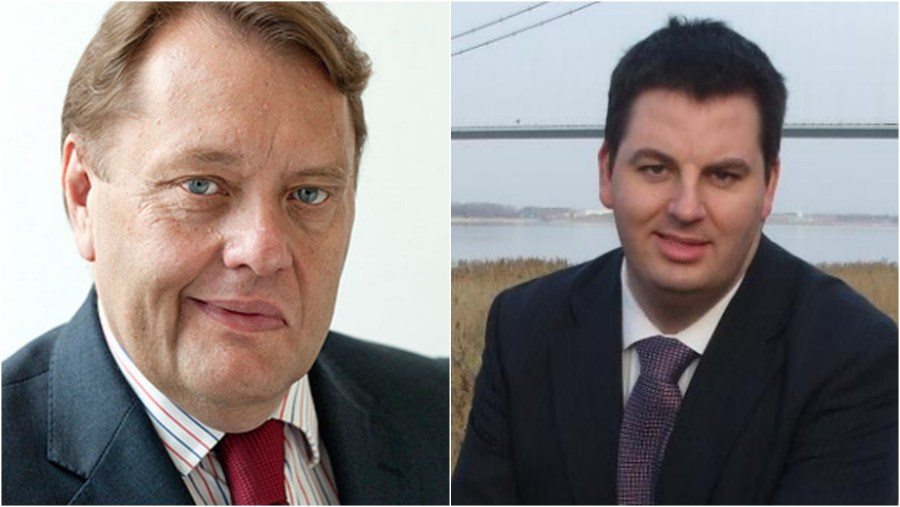 South Holland and the Deepings MP John Hayes (left) and Brigg and Goole MP Andrew Percy (right)