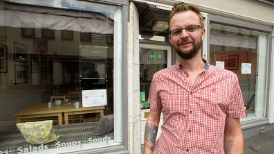 Little Lincoln Cafe owner Jamie Buckland Price. Photo Steve Smailes for The Lincolnite