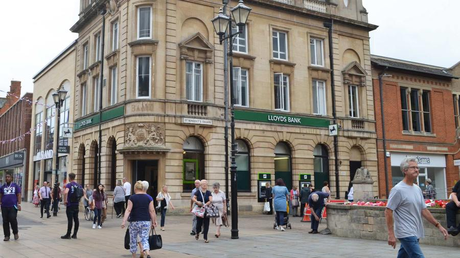 The Lloyds branch on Lincoln High Street. Photo: Emily Norton