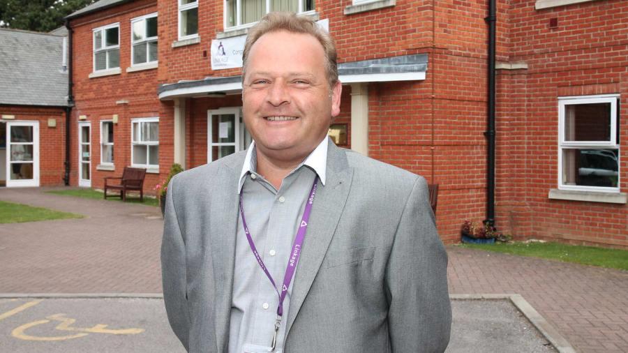New Linkage College principal Martin Shelton
