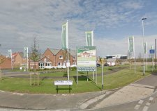 The Persimmon Homes development off Station Road in North Hykeham. Photo: Google Street View