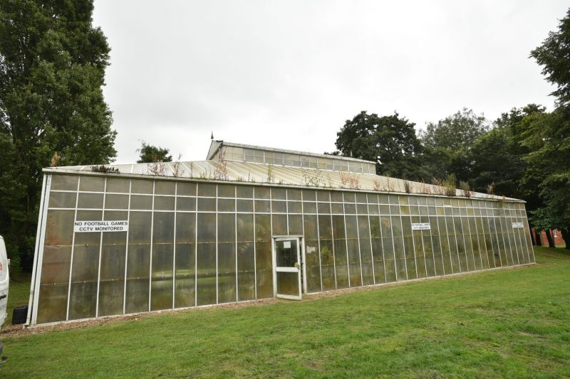 The new conservatory would have replaced the old one, which was demolished in August. Photo: Steve Smailes for The Lincolnite