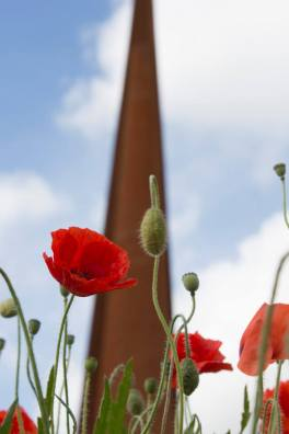 International Bomber Command Memorial Spire. Photo: Andrew Coupland