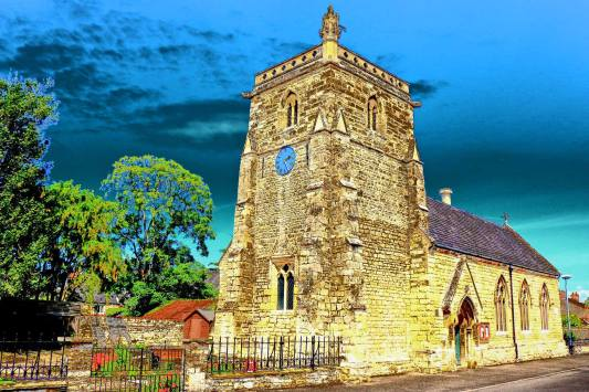 Heighington Church. Photo: Andrew Taylor