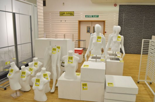 Everything must go on the final day of trading for BHS on Lincoln High Street. Photo: Sarah Harrison-Barker