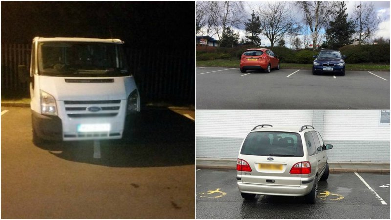 Terrible parking in Scunthorpe