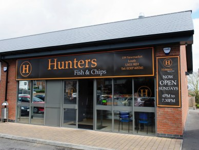 Hunters fish and chip shop, in Newmarket, Louth. Photo: Chris Vaughan/Chris Vaughan Photography