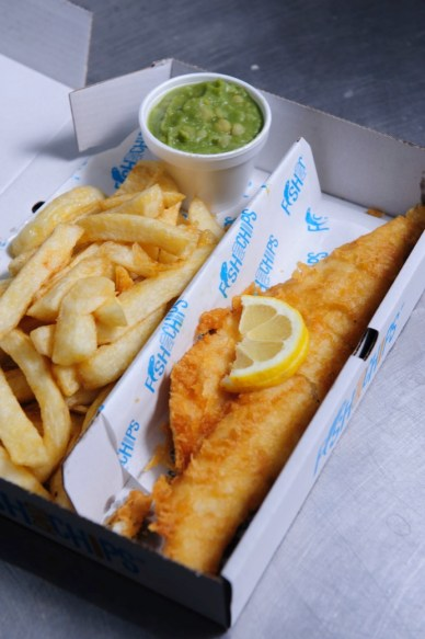 Some tasty looking fish and chips. Photo: Chris Vaughan/Chris Vaughan Photography
