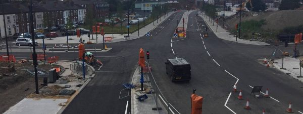 The East West Link Road is expected to open to motorists in September