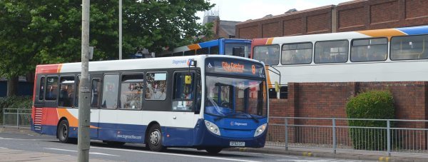 Buses services will be run on the revised timetables in preparation of the station move to Tentercroft Street. Photo: Emily Norton