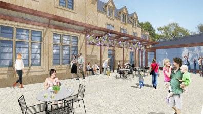 Visuals for the Lincoln Cathedral shop and Cafe, as part of the £16 million Lincoln Cathedral Connected project.
