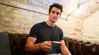 Ernie Wetton, owner of Makushi Coffee. Photo: Steve Smailes for The Lincolnite