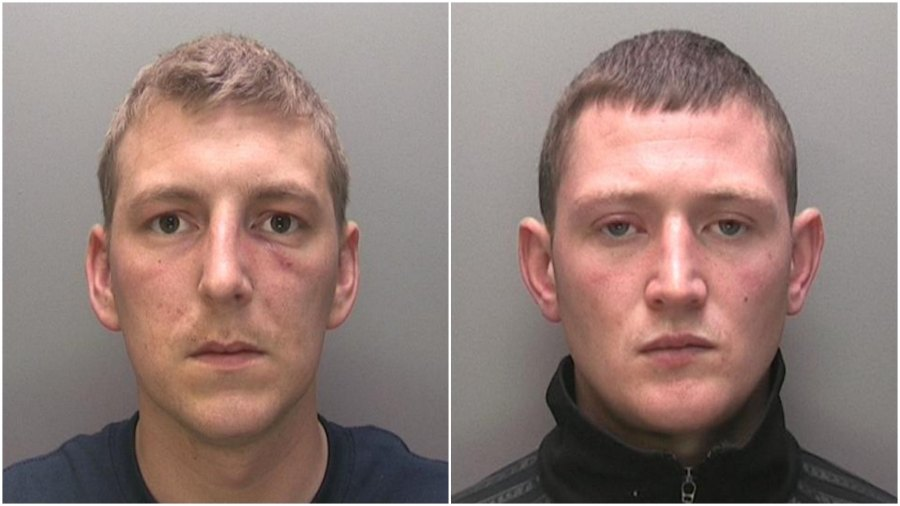 Mark Thomas Lovell (left) and Dale Hall (right). Photos: Lincolnshire Police