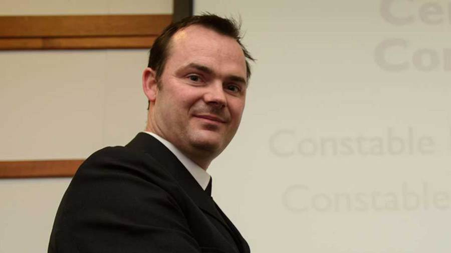 Lincolnshire PC Andrew Hamilton. Photo: Steve Smailes for The Lincolnite