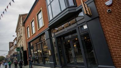 Wildwood restaurant Lincoln High Street. Photo: Sean Strange for The Lincolnite
