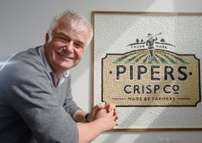 Alex Albone, founder of Pipers Crisps