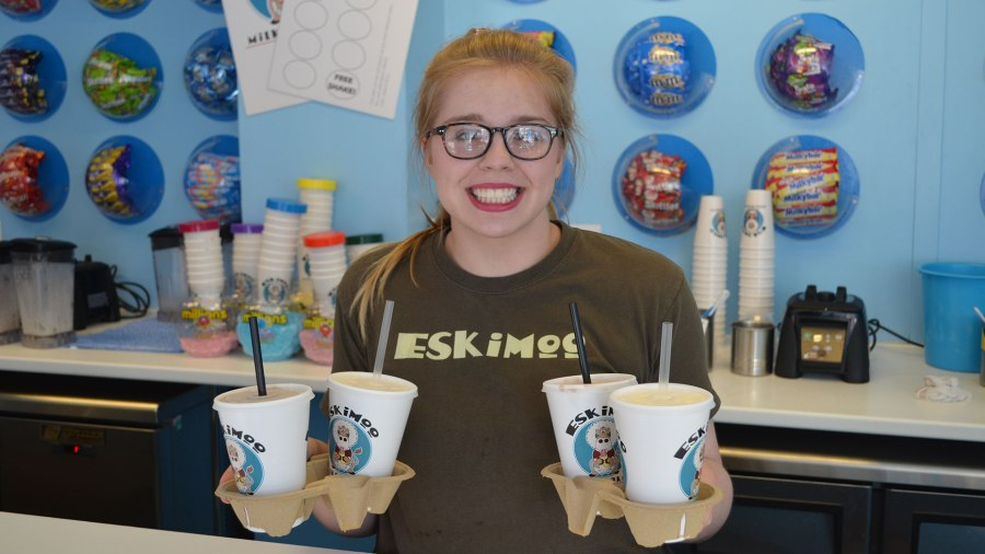Eskimoo Milkshakes is one of 18 eateries in Lincoln to sign up to the new Deliveroo service. Photo: Sarah Harrison-Barker