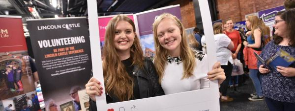 Students enjoying this year's Freshers' Fayre. Photo: Steve Smailes for The Lincolnite