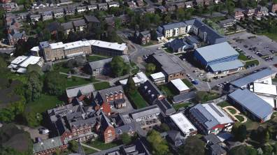 Bishop Grosseteste University. Photo: Google Earth