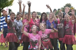 Thousands of ladies took part in the 2016 Prety Muddy event in Lincoln. Photo: Steve Smailes for The Lincolniite
