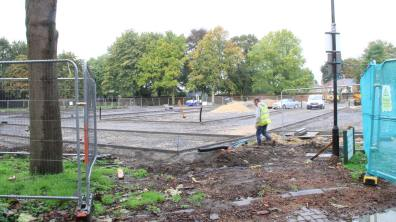 Workers began on site shortly after the plans for the redevelopment of the site were approved. Photo: Emily Norton for The Lincolnite