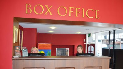 The new Box Office reception area. Photo: Sarah Barker for The Lincolnite