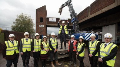 Work has begun on the demolition of the old bus station. Photo: Steve Smailes for The Lincolnite