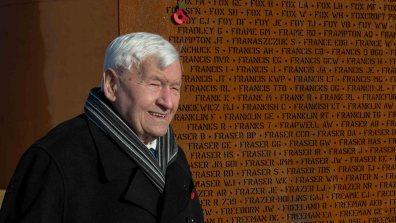 WO Ken Johnson 61 Sqn - Carson John Foy, rear gunner on Lancaster Bomber. Photo: Sean Strange