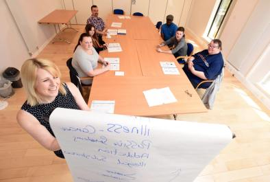 Large training rooms are available for businesses and community groups to hire