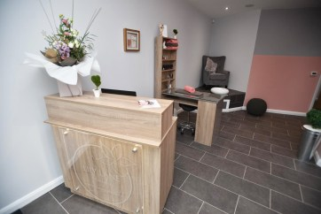 Reception area. Photo: Steve Smailes for The Lincolnite