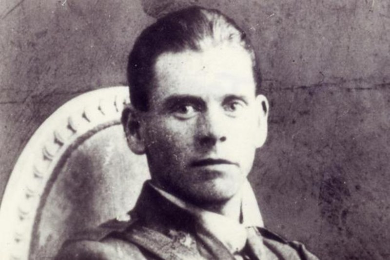 Picture of Percy Toplis, used on his 'wanted' poster in 1920.