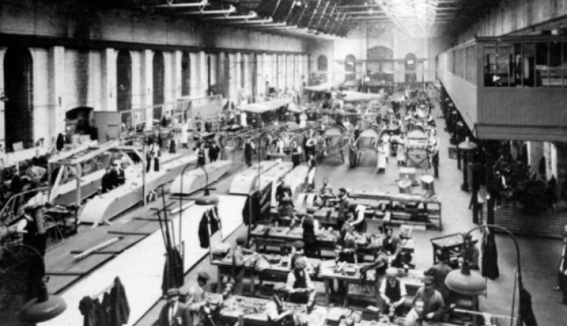 Ruston, Proctor & Co. Works, based on Firth Road was key in Lincoln's role in engine production.