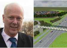Transport Secretary Chris Grayling announced the approval of £50 million towards the Lincoln eastern Bypass on Monday, November 28.