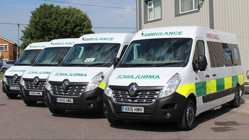 transport firm secures 25m contract for lincolnshire ambulances. Black Bedroom Furniture Sets. Home Design Ideas