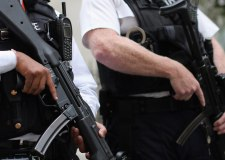 Armed police arrest man on High Street