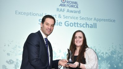 Winner of Apprentice Student of the Year Streets Chartered Accountants Award, Sophie Gottschall. Photo: Steve Smailes for The Lincolnite