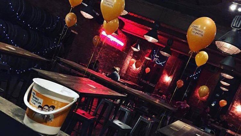 This year, the party will be held at Revolution Bar