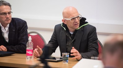Jason Bradbury, TV Personality and Technology Guru. Photo: Steve Smailes for The Lincolnite