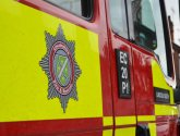 Fire crews tackle forklift truck blaze in Torksey