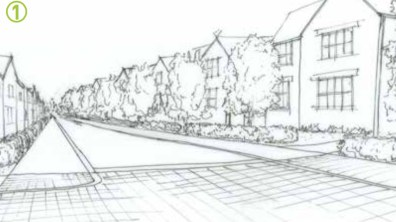 Designs are to be submitted at a later date, however developers have said housing would be in keeping with the surrounding areas and homes would range between one bedroom and five bedrooms.
