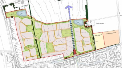 The plans will see 450 new homes built in Bracebridge Heath.