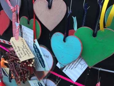 The hearts are made by With Love from Lincolnshire