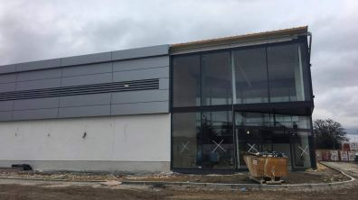 The new Lidl is expected to open in June. Photo: Chris Curtiss for The Lincolnite