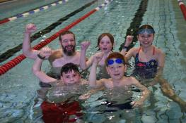 Swimmers of all ages and abilities took part in the charity relay. Photo: Steve Smailes for The Lincolnite