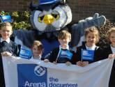 School children warm up for Lincoln fun runs this weekend